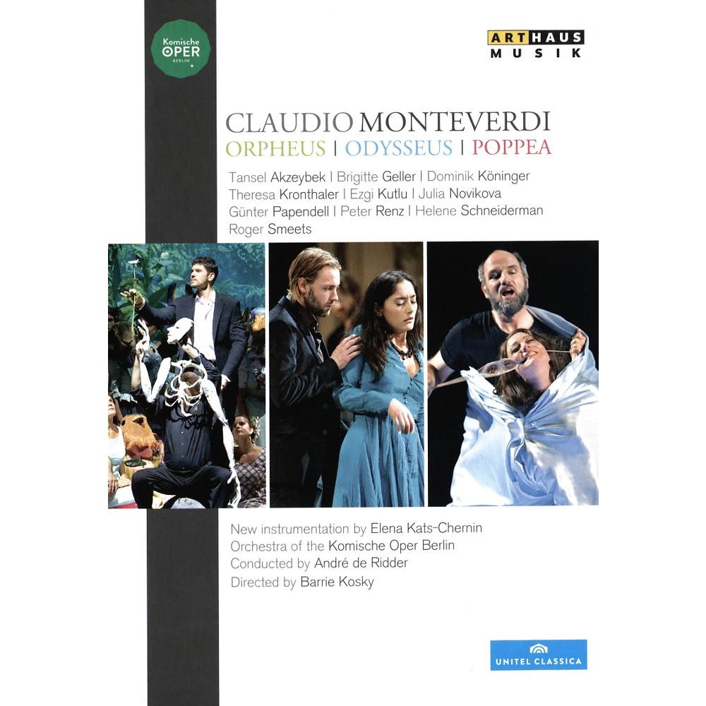 Kats Chernin/Monteverdi:Odysseus/Orph (Dvd)