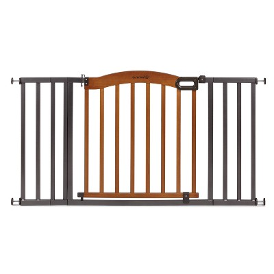 Summer Infant Decorative Wood & Metal Extra-Wide Pressure Mounted Gate
