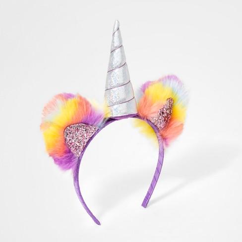 Girls  Unicorn Headband - Cat   Jack™   Target 65089d1c28c
