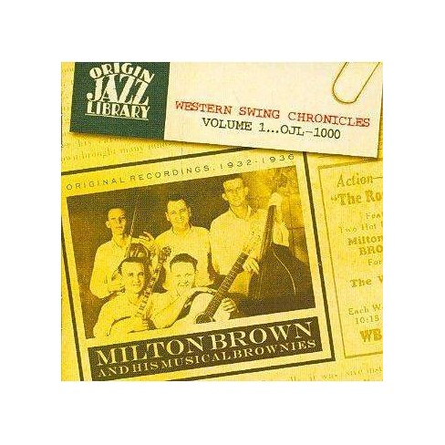 Milton Brown - Western Swing Chronicles (CD) - image 1 of 1