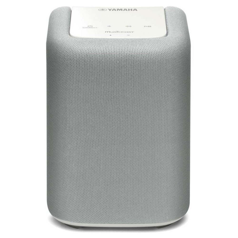 MusicCast Wireless Speaker (White) Get the right music for right occasion with the Yamaha WX-010 MusicCast Wireless Speaker. This speaker lets you stream music wirelessly using your existing Wi-Fi network. Use it as a stand-alone streaming music speaker or add other MusicCast speaker for paired stereo sound. Powerful sound with control at your fingertips. This stylish, space-saving design that fits anywhere in your home. Color: White.