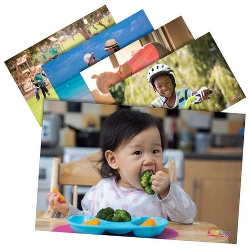 Kaplan Early Learning Healthy Habits Posters - Set of 12 - image 1 of 1