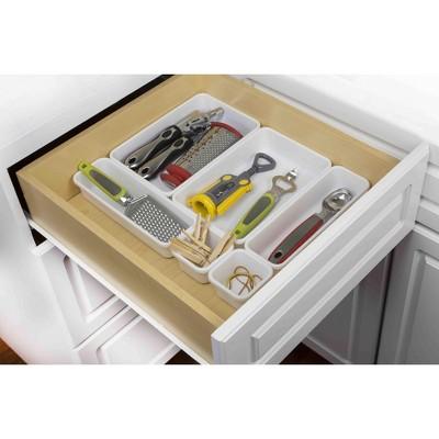 Home Basics 8 Piece Multi Drawer Organizer Set
