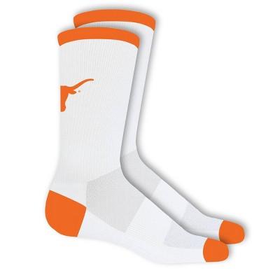 NCAA Texas Longhorns Big Game Crew Socks 10-13