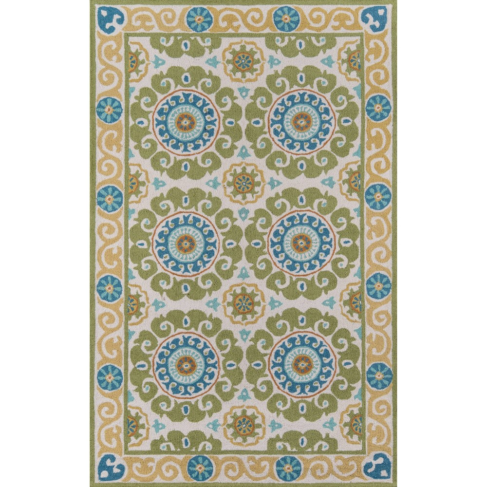 8'X10' Shapes Area Rug Lime, Green