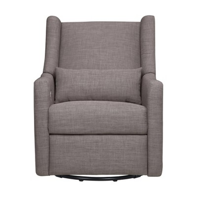 Babyletto Kiwi Glider Recliner with Electronic Control and USB - Gray Tweed