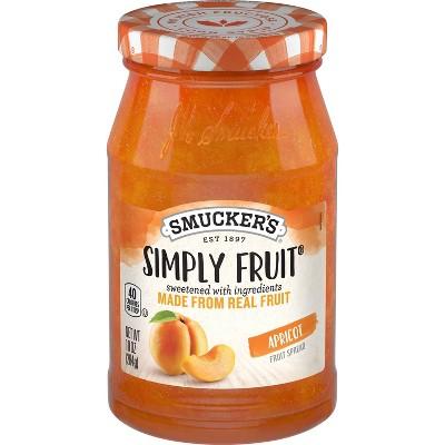 Smucker's Simply Apricot Spread - 10oz