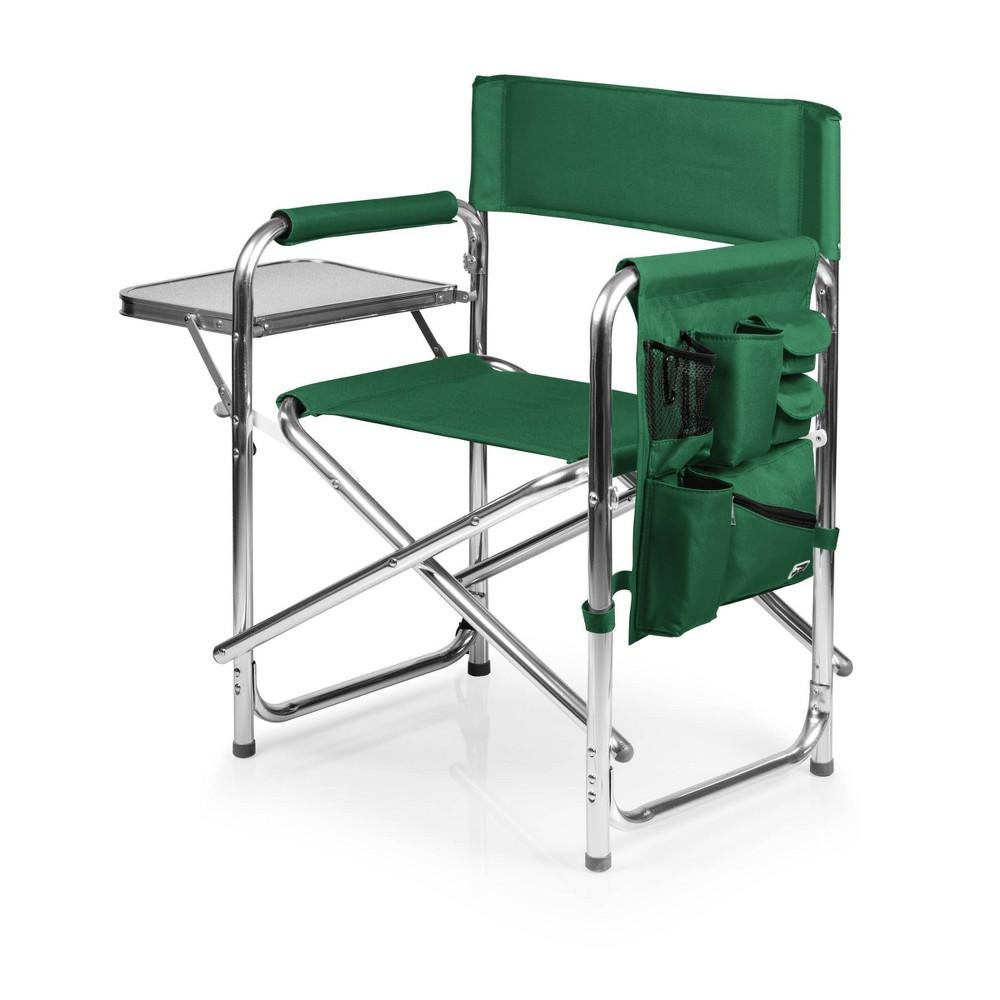 Picnic Time Sports Chair Hunter Green