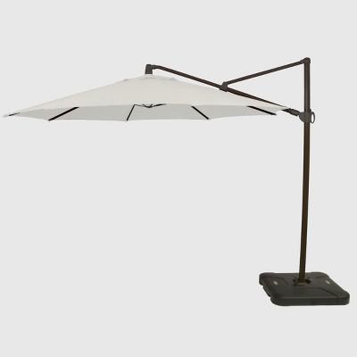 11' Offset Patio Umbrella Sunbrella Spectrum - Black Pole - Smith & Hawken™