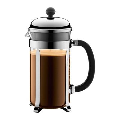 French Press Pot Chambord Coffee Chrome - Bodum