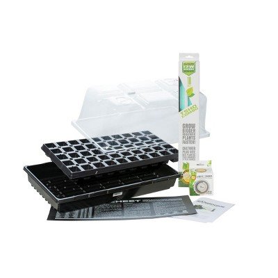 SunBlaster SL1611206 Grow Home Seedling Propagation Beginner Kit with Complete Seed Starting Guide & T5 Light for Veggies, Flowers & Tabletop Herbs