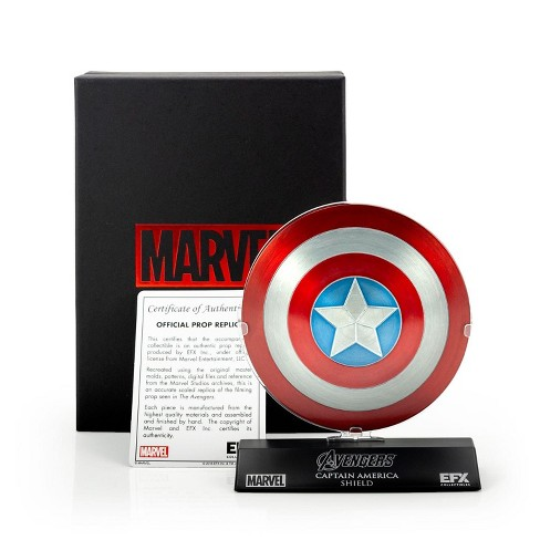 """EFX Collectibles Marvel's The Avengers Captain America Shield 1:6 Scale Prop Replica (4"""" diameter) - image 1 of 4"""