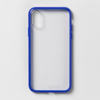 heyday™ Apple iPhone X/Xs Case - Blue/Clear