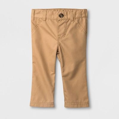 Baby Boys' Chino Pants - Cat & Jack™ Khaki 0-3M