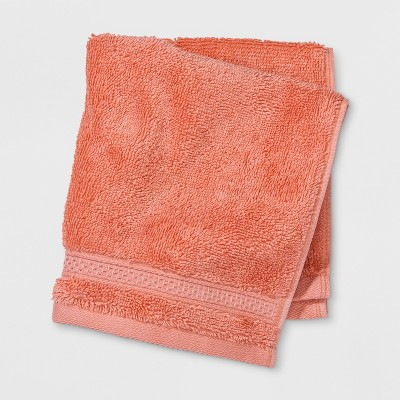 Perfectly Soft Solid Washcloth Georgia Peach - Opalhouse™