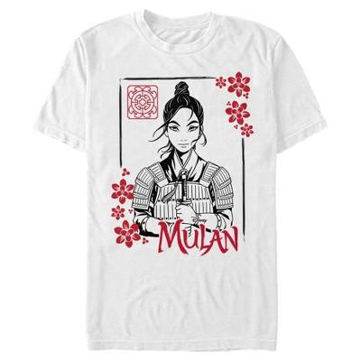 Men's Mulan Blossom Frame T-Shirt