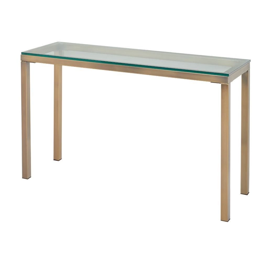 Manhattan Console Table Gold - Buylateral