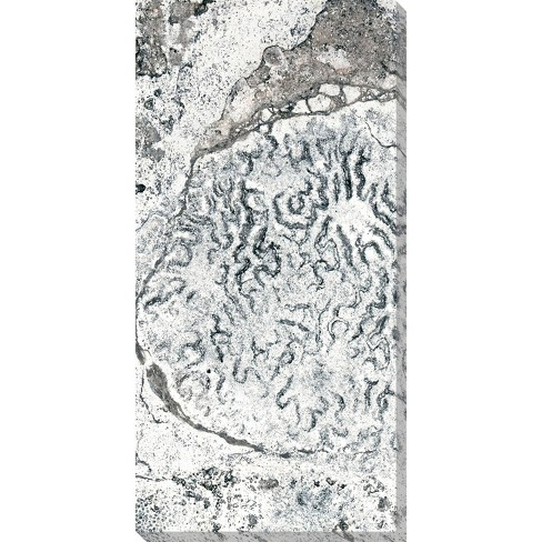 Textured Abstraction 2 Unframed Wall Canvas Art - (18X36) - image 1 of 2