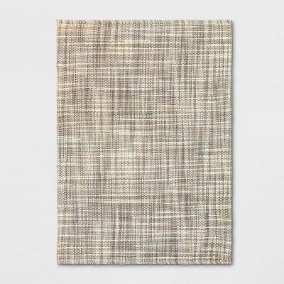 5'X7' Basketweave Tie Dye Design Area Rug Tan - Project 62™