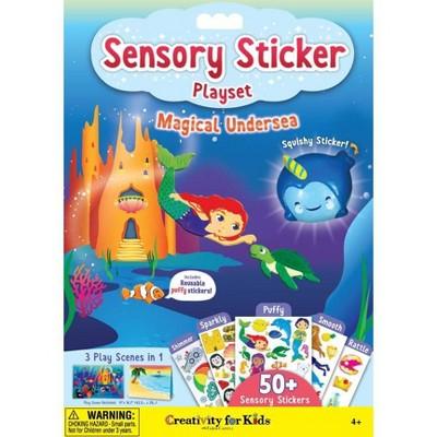 Creativity for Kids Sensory Sticker Playset - Magical Undersea