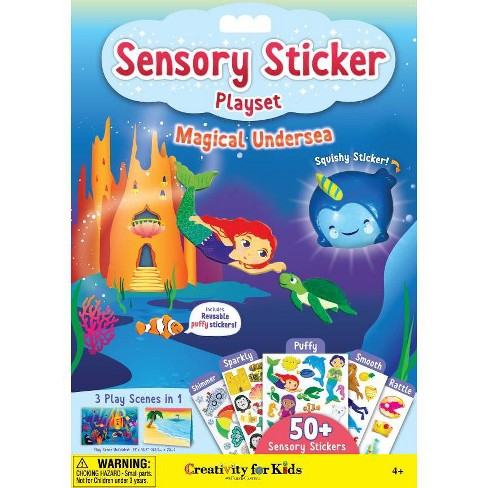 Creativity for Kids Sensory Sticker Playset - Magical Undersea - image 1 of 4