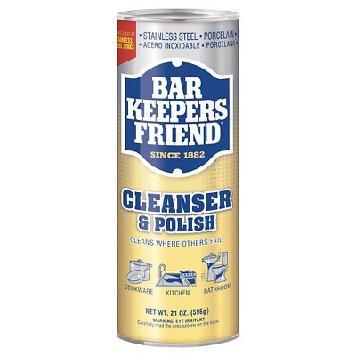 Multi-Surface Cleaner: Bar Keepers Friend Cleanser