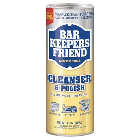 Bar Keepers Friend Multipurpose Household Cleanser Polish 21 Oz
