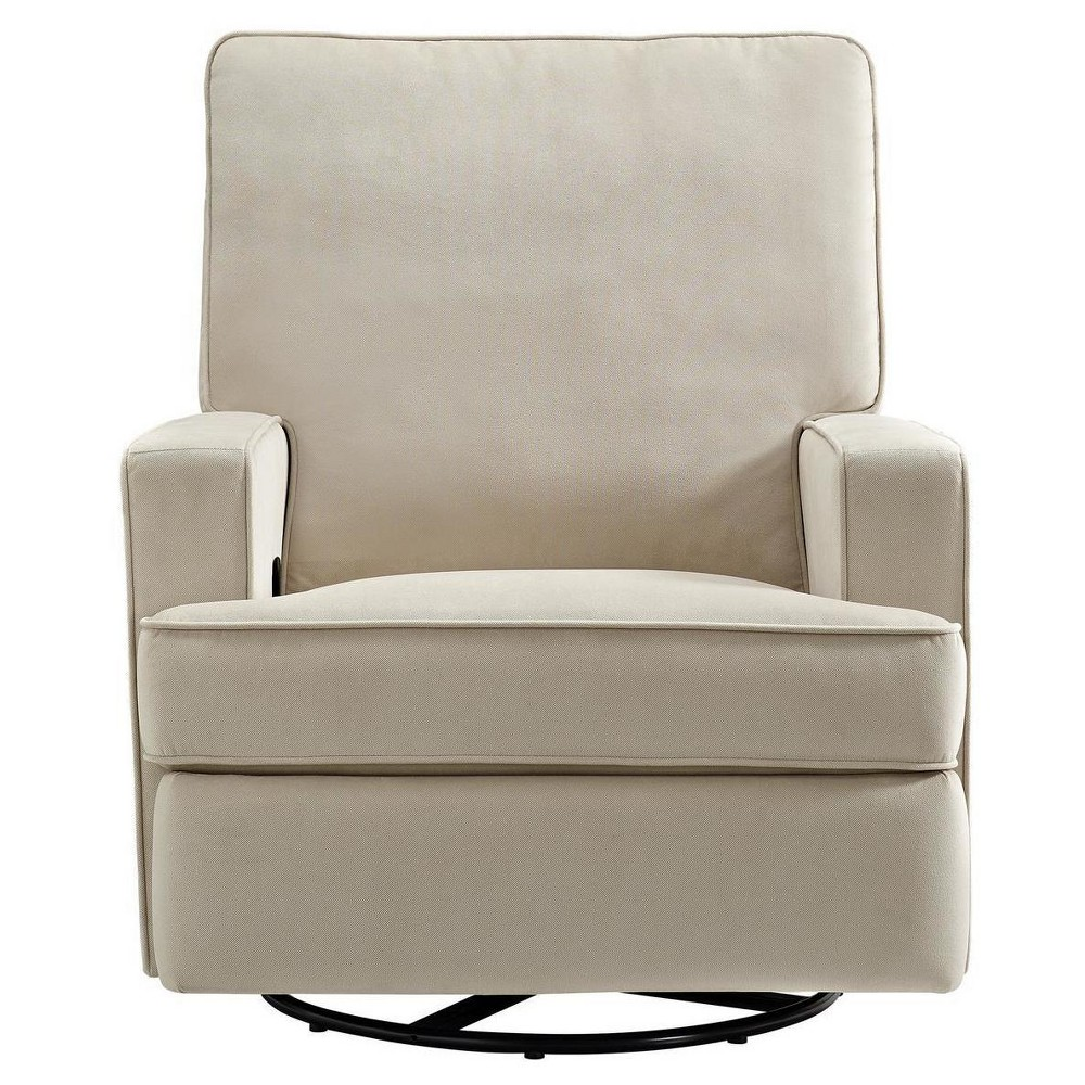 Baby Relax Addison Swivel Gliding Recliner - Beige