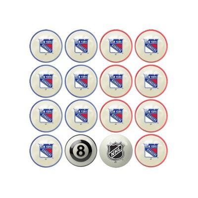 NHL New York Rangers Home & Away Billiard Ball Set