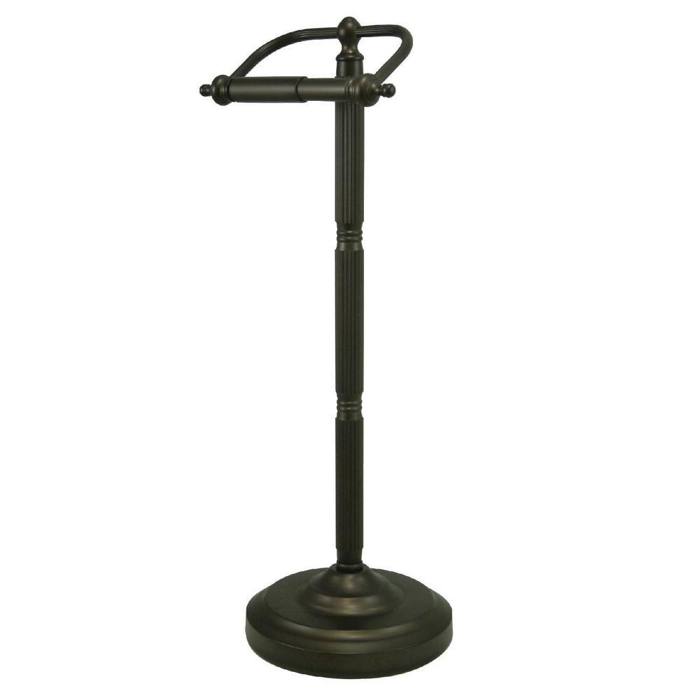 Image of Georgian Freestanding Toilet Paper Holder Oil Rubbed Bronze - Kingston Brass
