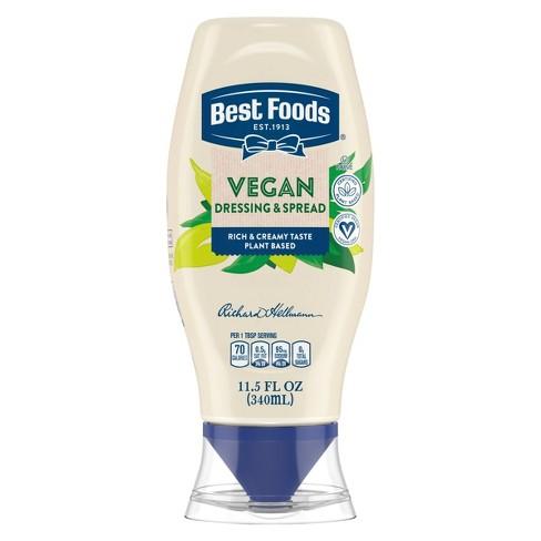 Best Foods Vegan Dressing and Sandwich Spread – 11.5oz - image 1 of 4