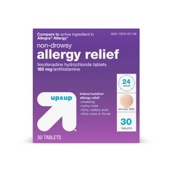 Fexofenadine Hydrochloride Allergy Relief Tablets - Up&Up™