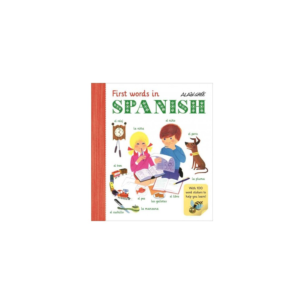 First Words in Spanish (Paperback)