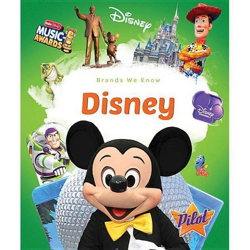 Disney - (Brands We Know) by  Sara Green (Paperback) - image 1 of 1