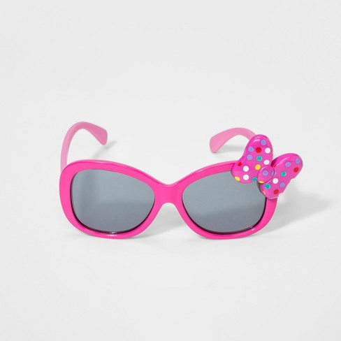 Girls' Minnie Mouse Sunglasses - Pink One Size - image 1 of 2