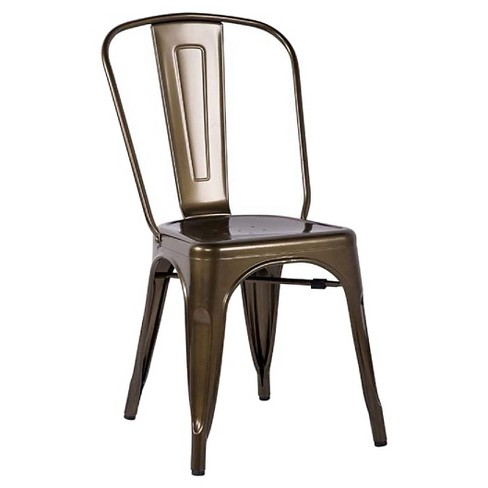 Set of 2 Jakia Side Dining Chair Bronze - Acme Furniture - image 1 of 1