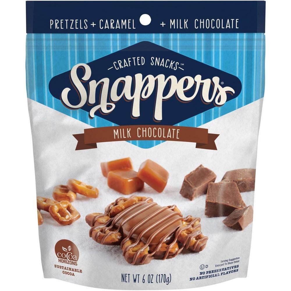 Snappers Original Milk Chocolate Pretzel Snacks 6oz