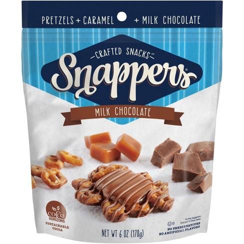 Snappers Original Milk Chocolate Pretzel Snacks - 6oz - image 1 of 4