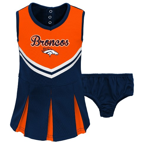 newest beaf2 c714a Denver Broncos Infant/ Toddler In the Spirit Cheer Set 12 M