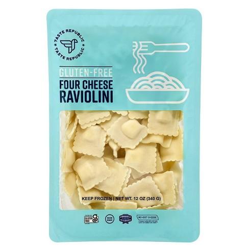 Taste Republic Gluten Free Four Cheese Frozen Raviolini - 12oz - image 1 of 4