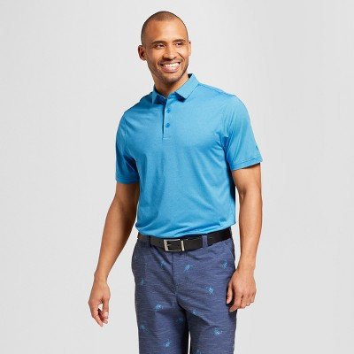 Men's Striped Golf Polo Shirt - C9 Champion® Hotline Blue Stripe XXL