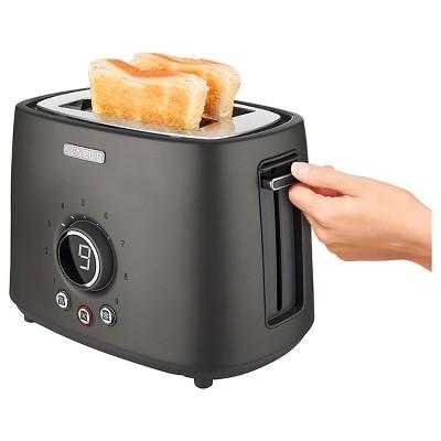 Sencor Metallic 2 Slice Toaster - Black