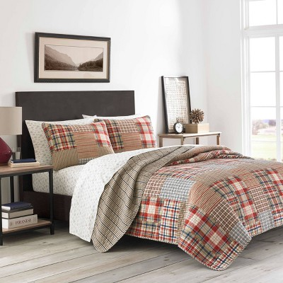 Hawthorne Quilt Set Brown - Eddie Bauer
