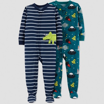 Baby Boys' Dino Pajama Set - Just One You® made by carter's Navy 9M