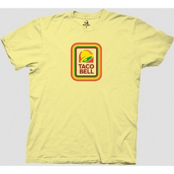 Men's Taco Bell Short Sleeve Graphic T-Shirt - Yellow