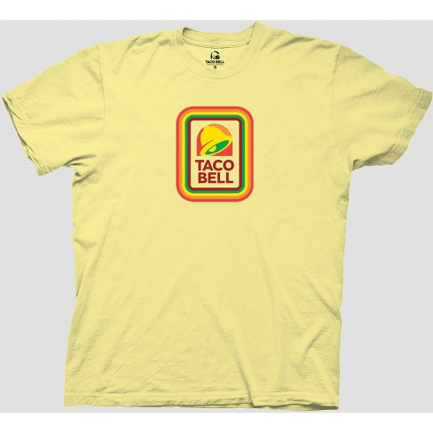 c6f2a5e0 Men's Taco Bell Short Sleeve Graphic T-Shirt - Yellow : Target