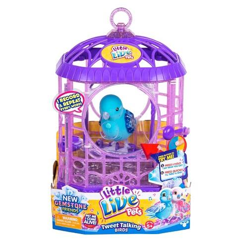 Little Live Pets™ Tweet Talking Bird with Cage - Starflake