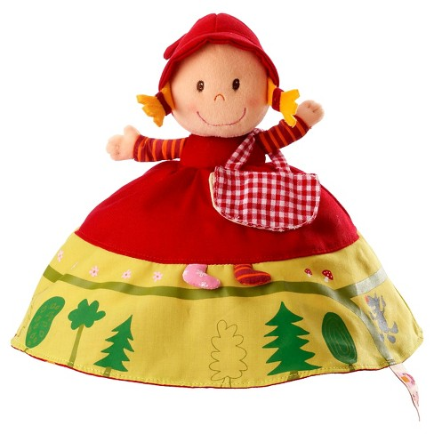 Lilliputiens Reversible Red Riding Hood Plush Story Telling Toy - image 1 of 4