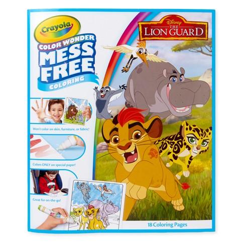 Lion Guard Color Wonder Coloring Pages