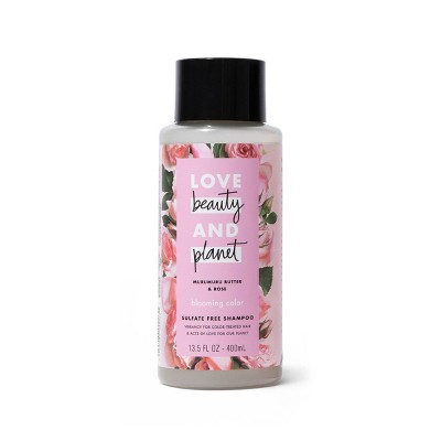 Love Beauty & Planet Murumuru Butter & Rose Blooming Color Shampoo - 13.5 fl oz